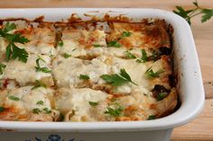 swiss chard lasagna 4 by crumblycookie, via Flickr