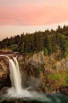 Snoqualmie Falls is