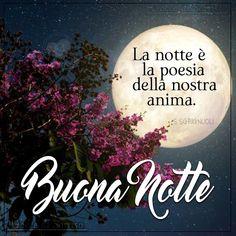 La notte è la poesia della nostra anima. Buona Notte