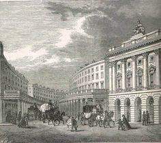 Regent street in 1840