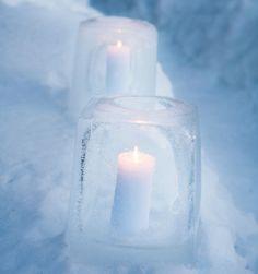 Tee kaunis jäälyhty - Tee se itse - Glorian Koti