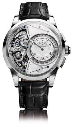 29dfc7c93c9 Jaeger-LeCoultre Hybris Mechanica 55 Grande Sonnerie watch Relógio Michael  Kors