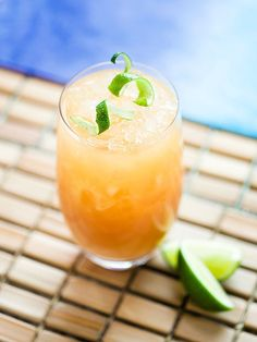 Grapefruit Press  -8 ounces gin		-1 ounce fresh lime                                      juice                              -8 ounces freshly squeezed grapefruit                  juice	   -Lime wedge to garnish