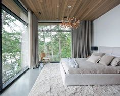 Master Bedroom Ideas for Couples on a Budget -Neutral modern minimalist bedroom Modern Minimalist Bedroom, Modern Bedroom Design, Master Bedroom Design, Contemporary Bedroom, Home Decor Bedroom, Bedroom Ideas, Budget Bedroom, Fall Bedroom, Bedroom Tv