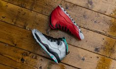 "Air Jordan 10 Retro 30th Anniversary ""Bulls Over Broadway"" & ""Lady Liberty"" #AirJordan10 #JordanBrand"