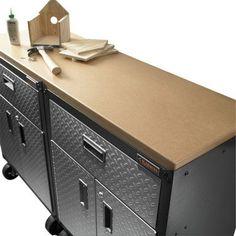 Gladiator GarageWorks GACK04KDSX Ready-to-Assemble Modular GearBox ...