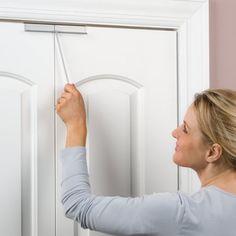 Beau Childproof Bi Fold Door Lock Transparent   Closet Doors And Would It Work  For The Accordion Doors Too?