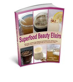 Superfood Beauty Elixirs eBook LowGlycemic by ediblegoddess, $19.95