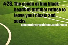 Everybody who has stepped on a turf field problems