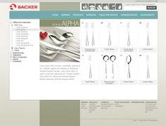 Catálogo de produtos virtual com sistema de administração e solicitação de orçamento on-line.