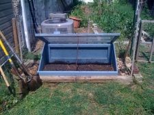 Cold frame! Need one to put over my flowerbed.