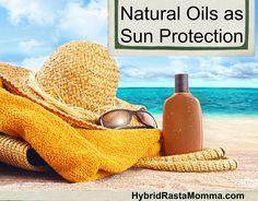 Natural Oils as Sun Protection