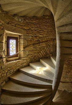 Medieval Stairway, France