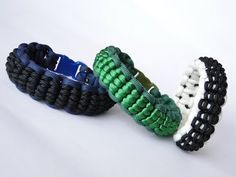 How to Make a Cobra Scales Pattern Paracord Survival Bracelet - YouTube
