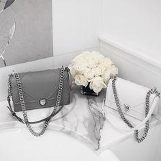 Dior 'Diorama' handbags  |  pinterest: @Blancazh