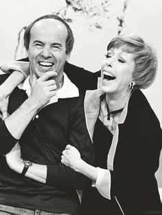 Tim Conway and Carol Burnett on The Carol Burnett Show.