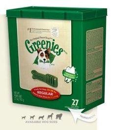 Amazon.com: Greenies Dental Chews for Dogs, Regular, Pack of 27: Pet Supplies HALF OFF 16.50 FOR 27