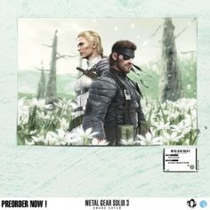 Our destiny - Metal Gear Solid 3 Snake Eater Official Artwork, in collaboration with Konami Digital Entertainment