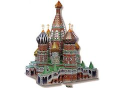 For Mom's who loves puzzles-she will love building this 3D replica of St. Basil's Cathedral.