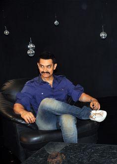 Aamir Khan and his cute smile