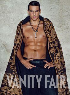 Jose Maria Manzanares covers shirtless VANITY FAIR Spain