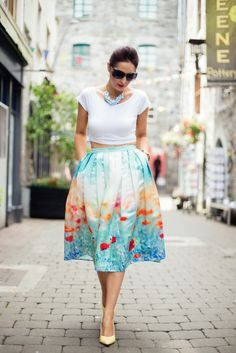 fashion, ootd, chicwish, chicwish skirt, streetstyle, fashion blogger, outfit of the day, poppy skirt, style, lookbook, style guide