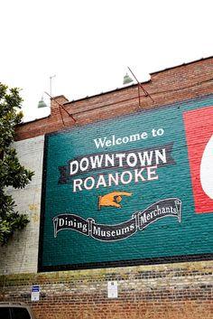 Downtown Building Art in #Roanoke, #VA    http://dennisharper.lnf.com/