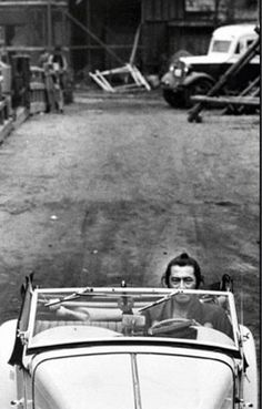 You know, it's just Toshiro Mifune driving an MG with his samurai sword on the dash.