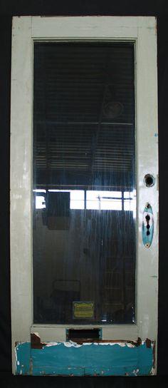 30x835x175 Antique Vintage Solid Wood Wooden Interior Door Panel
