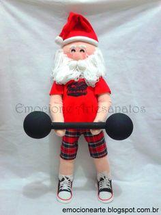 Papai Noel Academia Aguiar Fitness