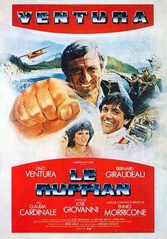Le Ruffian est un film franco-canadien de José Giovanni sorti en 1983. Chercheurs d'or au Canada, Aldo et ses compagnons essuient une attaque de bandits le jour de la paie. Seuls, Aldo et deux indiens en sortent vivants et décident de profiter de l'or en retournant à la civilisation. Chemin faisant, Aldo fausse compagnie aux indiens et part en canoe sur une rivière. Son embarcation prise dans les rapides s'écrase au pied d'une cascade avec le chargement d'or, mais Aldo en réchappe in…