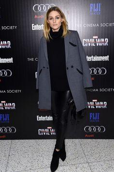 The Olivia Palermo Lookbook : Olivia Palermo at the screening of Captain America...