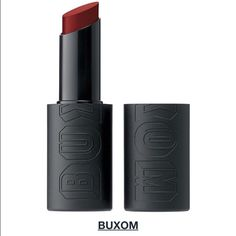 Buxom Matte Lipstick (Ruby Temptress) Used once! (And cleaned off:)) still in excellent condition. Almost brand new! Makeup Lipstick