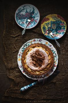 Peanut butter and salted caramel banoffee pie by claire gunn
