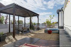 Marseille, Eugène Pierre : Appartement contemporain avec toit terrasse - Agence EA Marseille