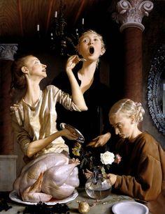 John Currin 'Thanksgiving', 2003