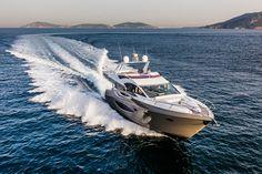 Neue Luxusyacht 70 Flybridge von Numarine