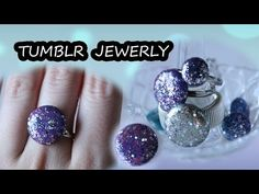 GIOIELLI con COLLA a CALDO 💍 Tumblr - YouTube Crafts To Make, Arts And Crafts, Ear Tag, Art And Hobby, Strong Hand, Body Proportions, Ruby Jewelry, Small Earrings, Nespresso