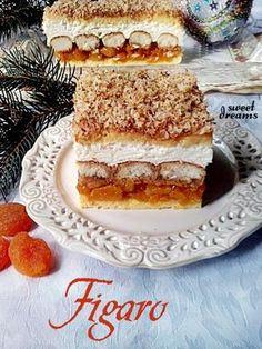 сладких снов Фигаро Polish Desserts, Polish Recipes, Cake Cookies, Cupcakes, Torte Cake, Pastry Shop, Macarons, Cake Recipes, Sweet Tooth