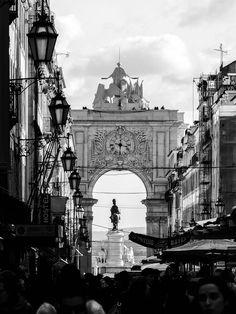 Lisbon, Rua Augusta - Rua Augusta