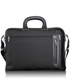 Tumi Luggage Arrive Narita Slim Brief, Black, One Size