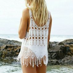By the sea is where you'll find me  Shop the Mimi Tassel Top in store & online now  http://ift.tt/1GqdATg