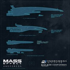 Mass Effect Size Comparison between Normandy and Tempest