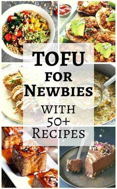 New to cooking and preparing tofu? Check out this quick and easy guide to tofu for beginners with more than 50 recipes to try!