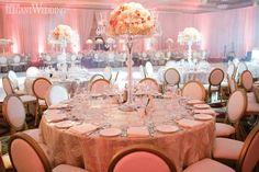 Christina & Anthony | Florals & Decor: Royal Orchid Florist | Pink Decor