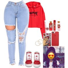 Swag Outfits For Girls, Cute Outfits For School, Teenage Girl Outfits, Cute Swag Outfits, Cute Comfy Outfits, Teen Fashion Outfits, Look Fashion, Stylish Outfits, Outfits With Red Vans