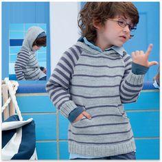 pull à capuche enfant Phildar - free