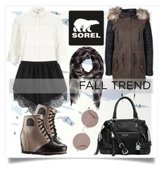 """""""The 1964 Premium Wedge from SOREL: Contest Entry"""" by alaria ❤ liked on Polyvore featuring Aimée Wilder, River Island, Michael Kors, Forever 21, ONLY, SOREL, Sunday Somewhere and sorelstyle"""