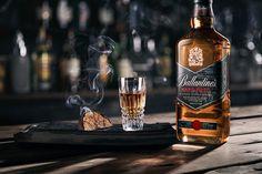 Stuart Miller for Ballantine's Hard Fired Blended Scotch Whiskey // Drinks Photography and Styling Whiskey Girl, Cigars And Whiskey, Whiskey Drinks, Scotch Whiskey, Irish Whiskey, Whiskey Bottle, Whiskey Cake, Whiskey Glasses, Bourbon Whiskey