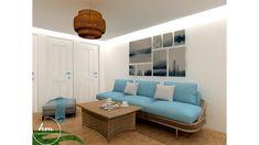 Balaton parti apartmanház alagsori részének előtere Outdoor Sectional, Sectional Sofa, Outdoor Furniture, Outdoor Decor, Projects, Home Decor, Log Projects, Modular Couch, Blue Prints